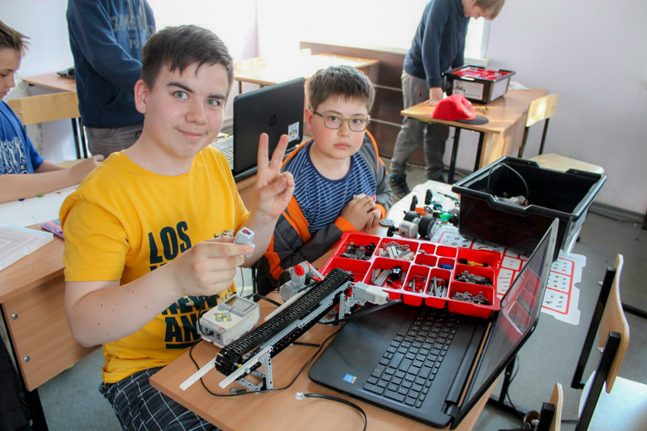Лига Роботов: летние занятия