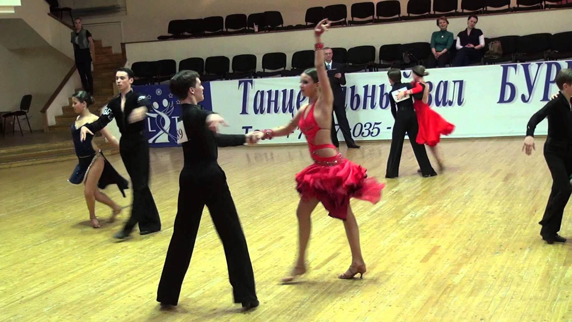 Городской турнир по спортивным танцам