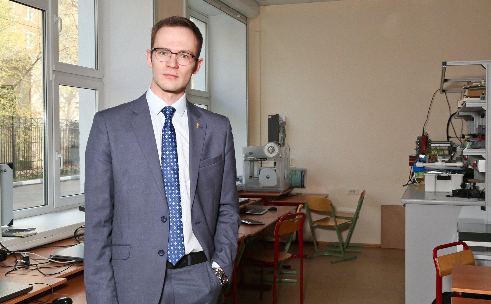 Учитель года Москвы Игнат Игнатов