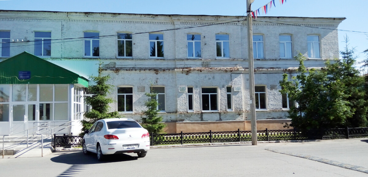 Здание Шарлыкской средней школы №1