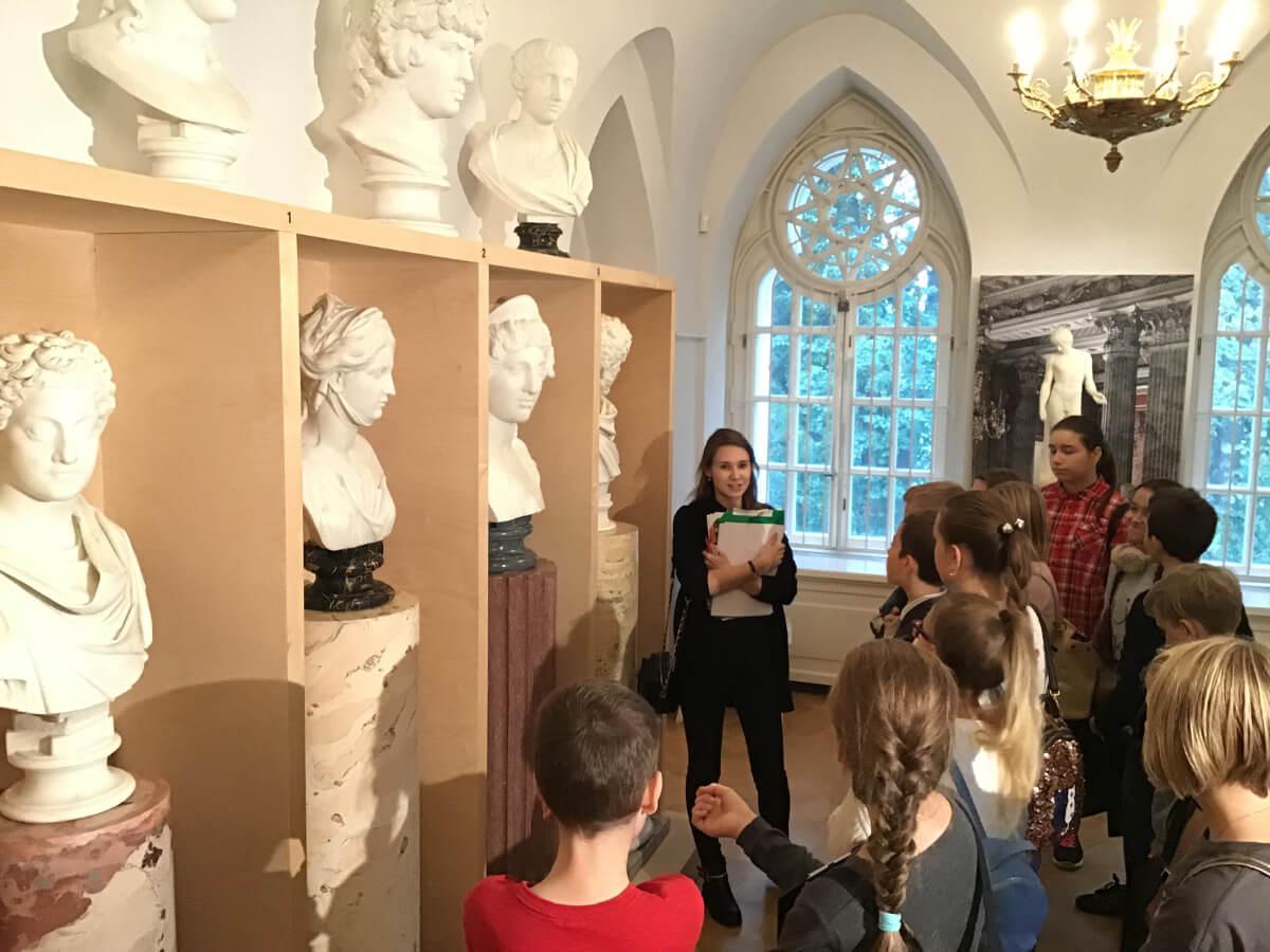 Учебный день в музее