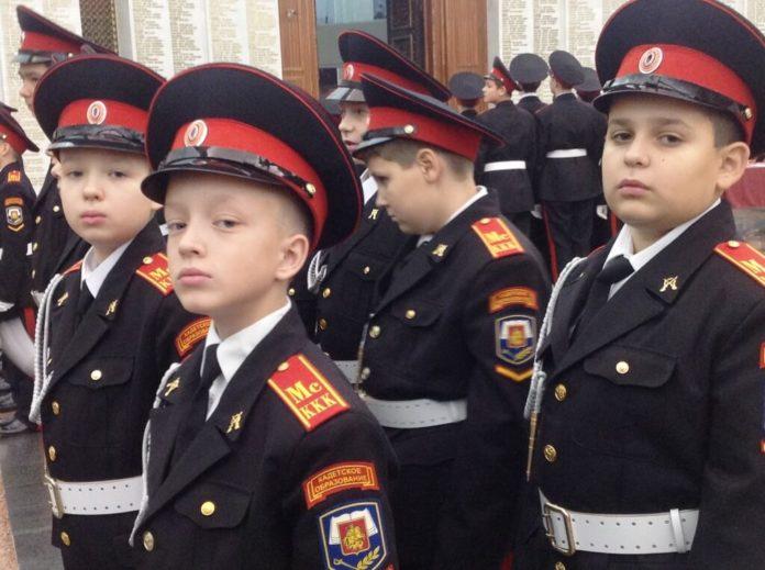 Московские кадеты будут нести вахту наПоклонной горе