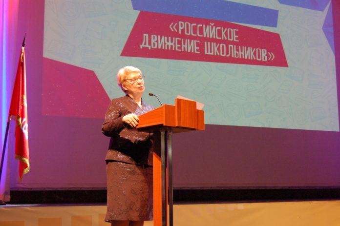 Министр просвещения Российской Федерации О. Ю. Васильева