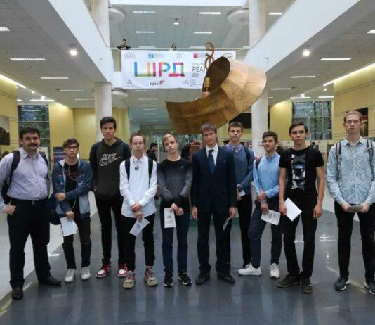 Евгений Аминов со своими учениками